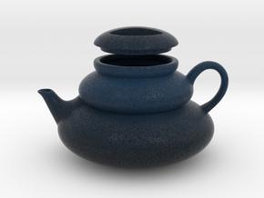 Deco Teapot in Natural Full Color Sandstone