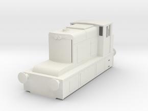 b-55-guinness-hudswell-clarke-diesel-loco in White Natural Versatile Plastic