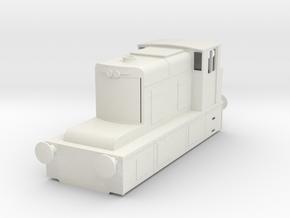 b-50-guinness-hudswell-clarke-diesel-loco in White Natural Versatile Plastic