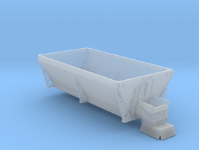 1/64th Dually pickup salt spreader box for Greenli in Smooth Fine Detail Plastic