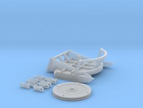 1:50 Brush Mower for Bobcat S750 Coupler  in Smooth Fine Detail Plastic