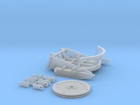 1:50 Brush mower for DM 242D/259D skid steer in Smooth Fine Detail Plastic