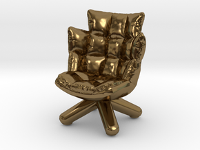 "Husk  - 1/2"" Mode in Polished Bronze"