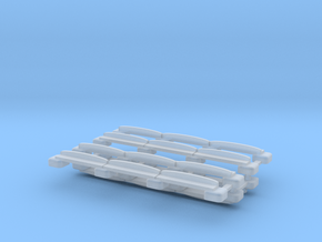 N Gauge Plateway Track (Static Version) in Smooth Fine Detail Plastic