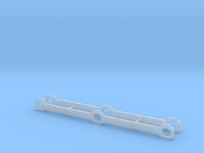 OO Scale NWR #5 Side Rods in Smoothest Fine Detail Plastic
