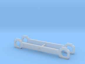 OO Scale NWR #2 Side Rods in Smoothest Fine Detail Plastic