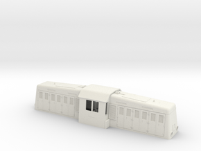 Withcomb at S scale  (1:64) in White Natural Versatile Plastic