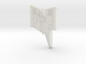 1400 constellation class Pylon  in White Natural Versatile Plastic