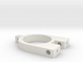 Yagi-Uda Antenna Element Support Clip in White Natural Versatile Plastic