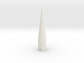 WAC Corporal Cone-BT-55 in White Natural Versatile Plastic