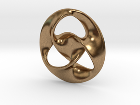 All is one  ( pendant ) in Natural Brass