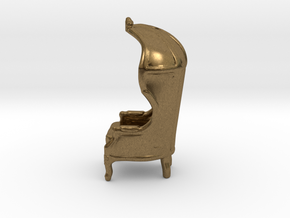 "Armchair Roof 1/4"" Scaled in Natural Bronze: 1:48 - O"