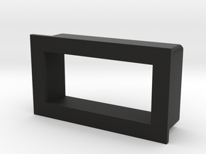 Panel LED Light Mount HLMP-2899 in Black Natural Versatile Plastic