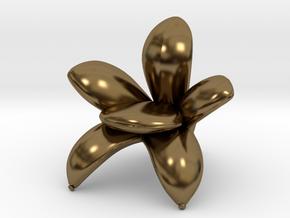"Getsuen 1/2"" Scaled in Polished Bronze: 1:24"