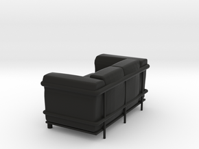 Le-Corbu-Sofa-02 in Black Natural Versatile Plastic
