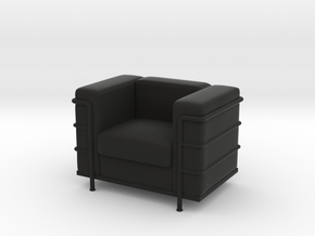 Le-Corbu-Sofa-Mini-03 in Black Natural Versatile Plastic