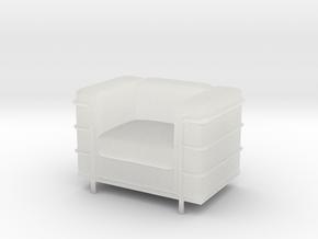 Le-Corbu-Sofa-Mini-03 in Smooth Fine Detail Plastic
