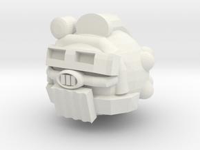 Helmet vC in White Natural Versatile Plastic