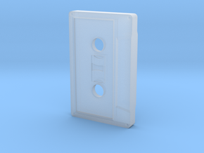 1/6 Scale Cassette Tape in Smoothest Fine Detail Plastic