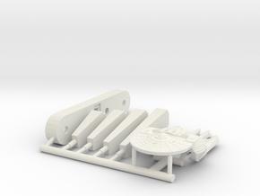 6k Northampton Frigate in White Natural Versatile Plastic