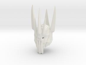 Sauron helmet  in White Natural Versatile Plastic