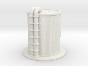 Oil Cistern 1/87 in White Natural Versatile Plastic