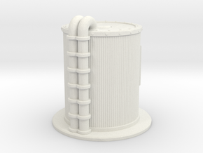 Oil Cistern 1/56 in White Natural Versatile Plastic