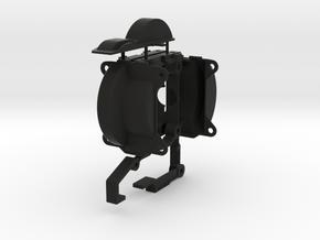 KR_v2_mounts_and_caps_new in Black Natural Versatile Plastic
