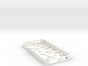 Iphone 5/5s Stix Case in White Processed Versatile Plastic