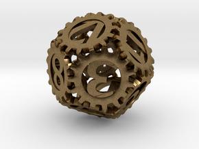 Static Gear (D12) in Natural Bronze