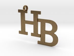 HB charm - Go Bobcats! in Natural Bronze