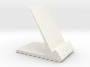 Mobile docking station in White Natural Versatile Plastic