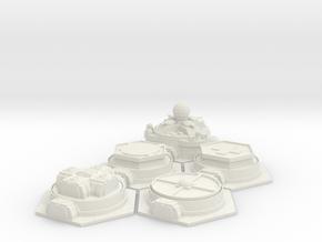 Outpost - Set in White Natural Versatile Plastic
