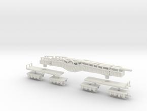 38 cm K E Kanone Eisenbahn 38 cm Siegfried 1/160 in White Natural Versatile Plastic