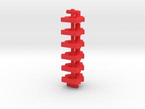 Johnston Value Guide in Red Processed Versatile Plastic