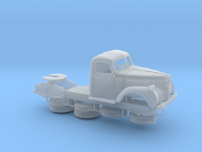 1:56 - Dodge Semi Tractor (right hand drive) in Smooth Fine Detail Plastic