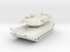 M1A1 AIM Abrams (late) 1/87 in White Natural Versatile Plastic