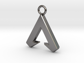 Apex Logo - Charms Apex Legends in Polished Nickel Steel