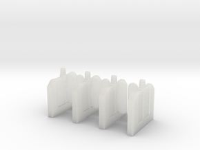 A-04 Ticket Barriers Starter Kit in Smooth Fine Detail Plastic