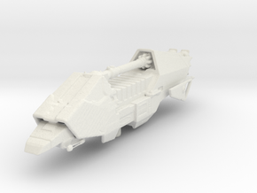 Micromachine Star Wars Action IV transport in White Natural Versatile Plastic