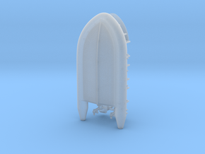 Schlauchboot Typ-B 1:72 in Smooth Fine Detail Plastic