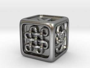 Celtic Die in Raw Silver