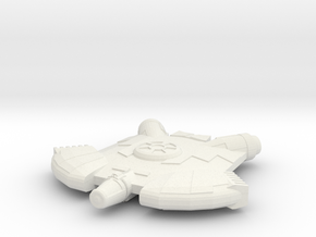 Micromachine Star Wars Ghtroc class in White Natural Versatile Plastic