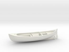 1/16 USN 26ft Motor Whaleboat in White Natural Versatile Plastic