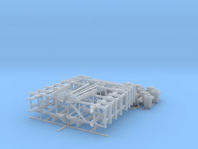 48th_High_DC_Rack_&_Depth_Charges in Smooth Fine Detail Plastic