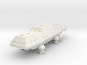 1/1000 Scale Junkyard Dog in White Natural Versatile Plastic
