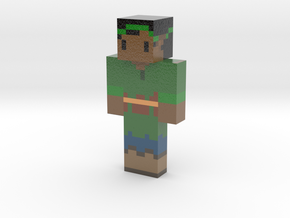 ThornVineRose   Minecraft toy in Glossy Full Color Sandstone