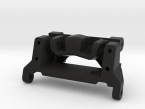 capra goat bundle - servo mount and link riser  in Black Natural Versatile Plastic