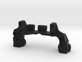 TRX4 V5 servo on axle 4-link in Black Natural Versatile Plastic