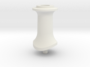 LBSCR E4 Tall Chimney in White Natural Versatile Plastic